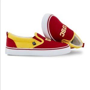 USC Trojans SKICKS Unisex Slip On Shoes